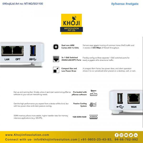 Netgate pfsense SG-1100 3